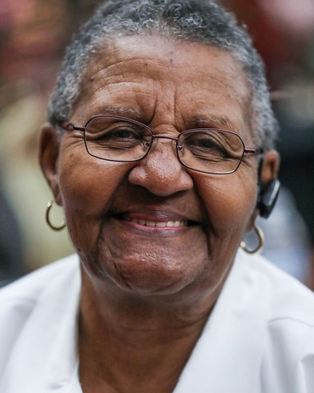 Frances Ray smiles for a portrait while selling her Mama Ray's Specialty Seasonings at a market showcasing more than 65 women and minority-owned small businesses at the Murat Shrine Temple in Indianapolis this afternoon. Ray, a retired nurse, was inspired by a cooking class she took and started the business about a year and half ago. (Follow the photographer  @jennajulyaugust) • • • #smallbusinesssaturday #womenownedbusiness #womanownedbusiness #smallbizsat #smallbiz