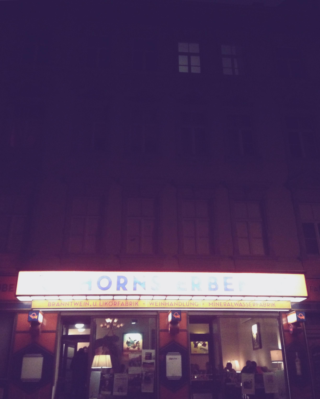 Leipzig, DE  –Horns Erben, my second favourite venue in Germany