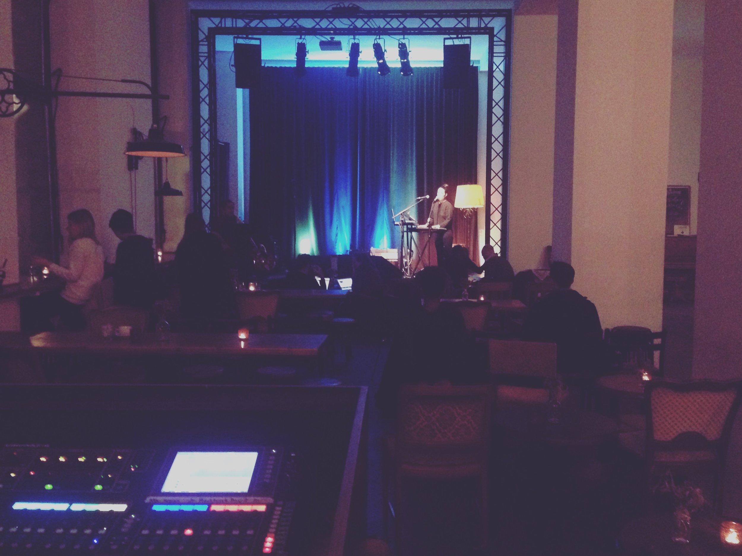 Berlin, DE  – Soundcheck