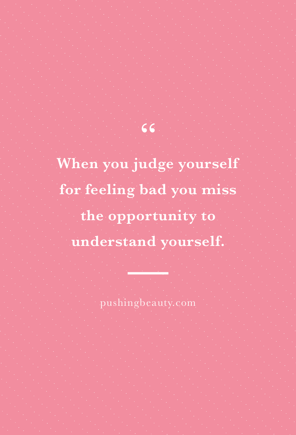 judgemental people quotes | pushing beauty