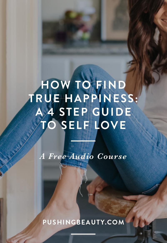 self love pushing beauty