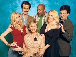 The amazing cast of Lovespring International Jennifer Elise Cox, Jack Plotnick,Jane Lynch, Mystro Clark, Wendi McLendon-Covey and Sam Pancake