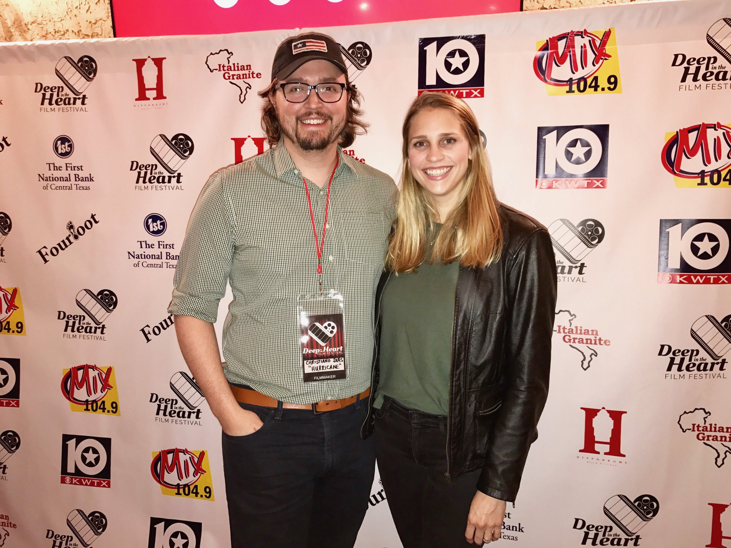 Hurricane  screening at Deep in the Heart Film Festival - Hippodrome Theater.