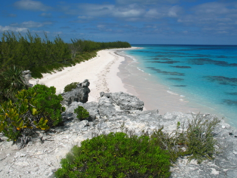 Lighthouse Beach. One of many beautiful beaches in Eleuthera