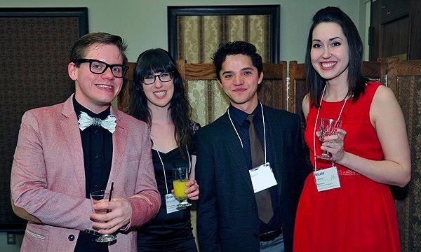 The GB Team at the 2014 Alberta Magazine Awards.