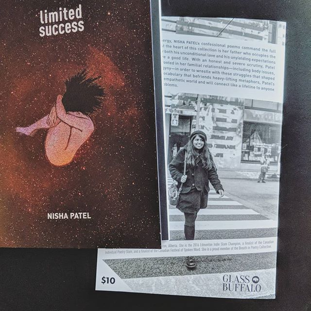 LIMITED SUCCESS by @anothernisha—the 2019 Canadian Individual Poetry Slam Champion—is now in its 2nd printing! 🏆