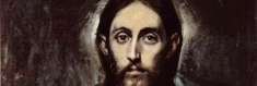 """Christ."" by El Greco."