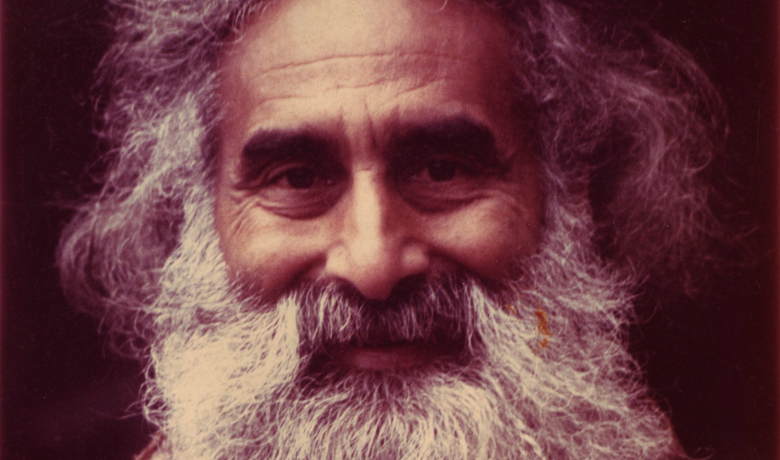 "Pir Vilayat Inayat Khan in the late 1970s. From the ""Zalman Schachter-Shalomi Collection"" of the University of Colorado Archives."