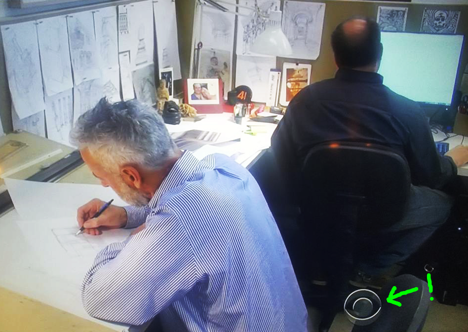 Above: The back of our AIA-SWO President-Elect's (apparently unmistakable) head makes an appearance in this 60 Minutes interview with Architect Peter Marino.