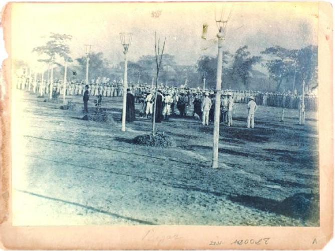 Manuel Arias Rodriguez,  Fusilamiento de Jose Rizal , 1896