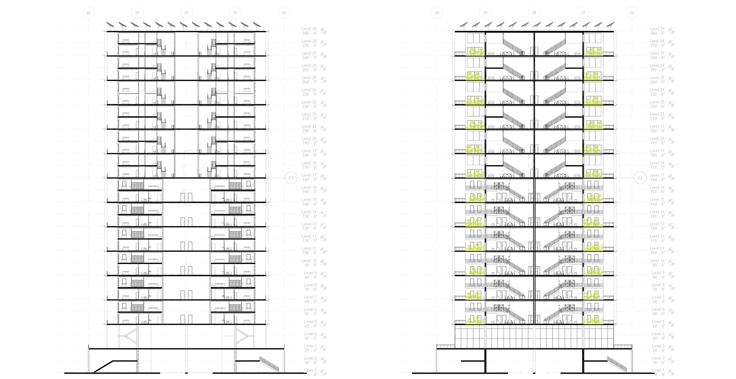 Building Type A Section B3 and B4