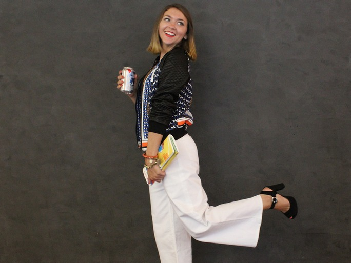 How to Style Wide-Leg Pants if You're Short Without Overwhelming Your Frame  , Summer 2015.