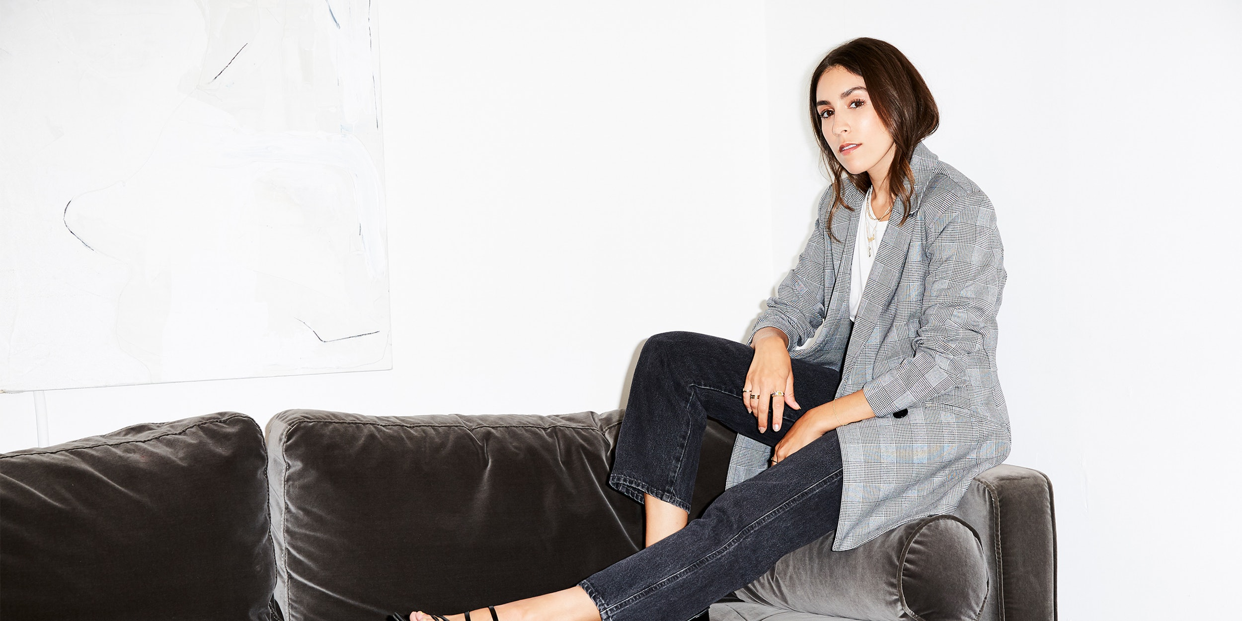 How Managing Editor Lauren Caruso Refines Her Personal Style Brand For Fall  , September 2018. Image: Lauren Perlstein/TZR.