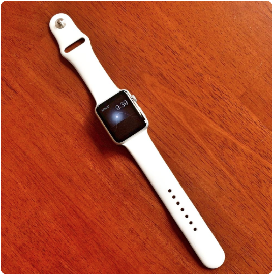 42mm Apple Watch Sport with Solar watch face.