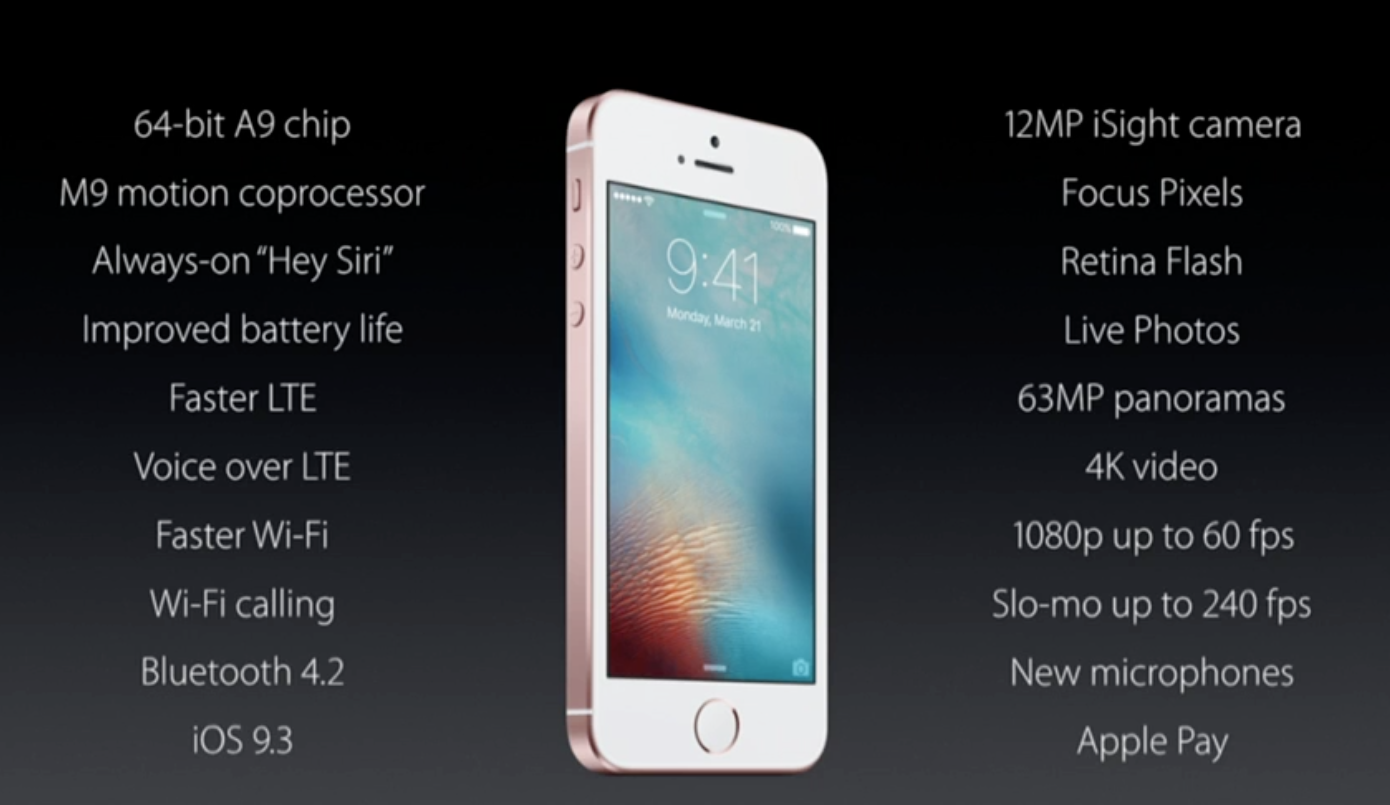 Future-proofing the iPhone SE.