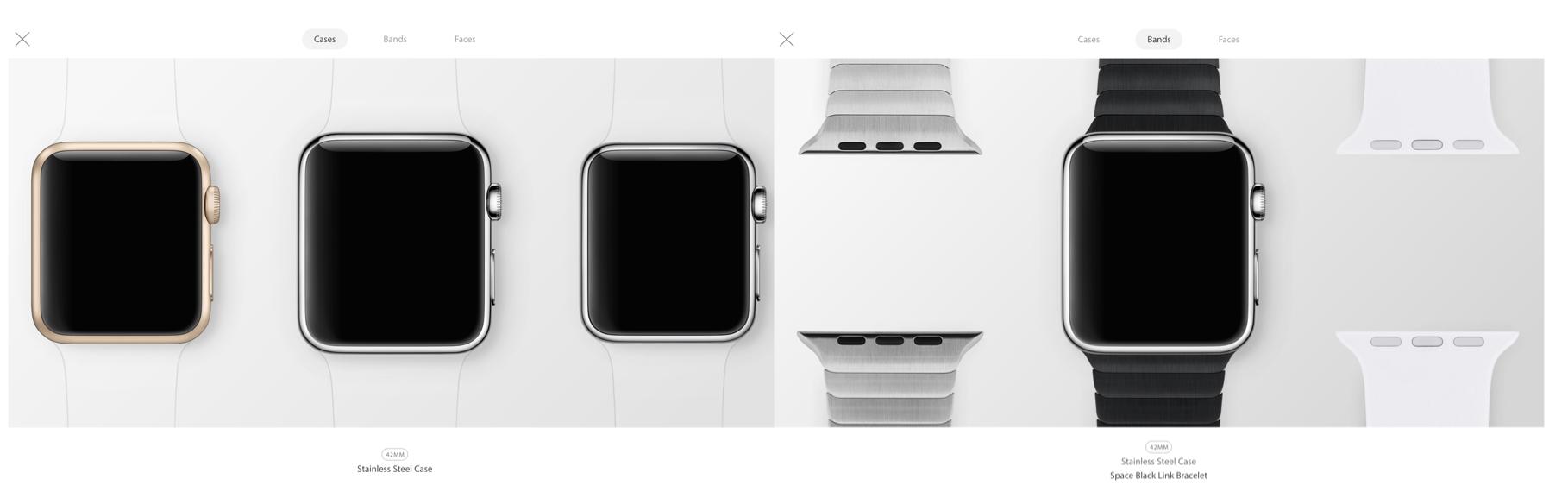 Apple's New Apple Watch Interactive Gallery.