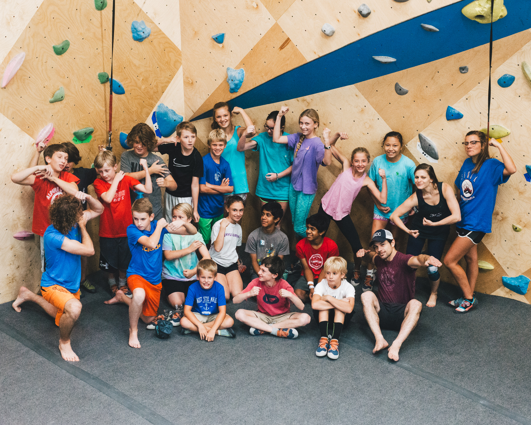 Join the climbing team every Monday and Wednesday from 5-7pm starting June 3rd!