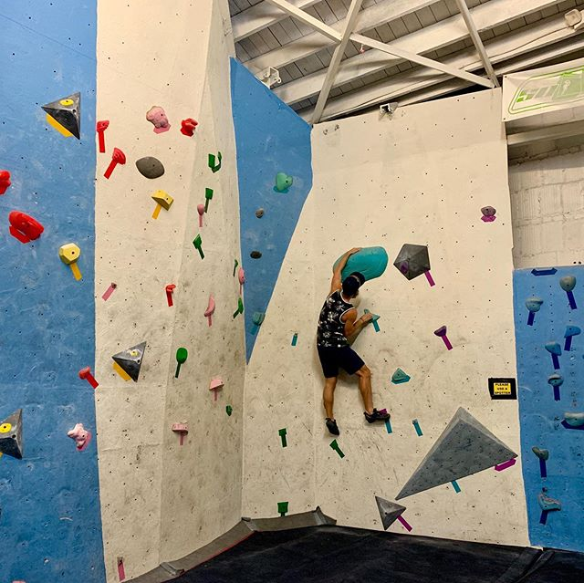 The Comp Wall has finally been refreshed! Come check out this tricky problems tonight! Plus we've still got yoga every Tuesday at 7 PM and yogis climb free after class!