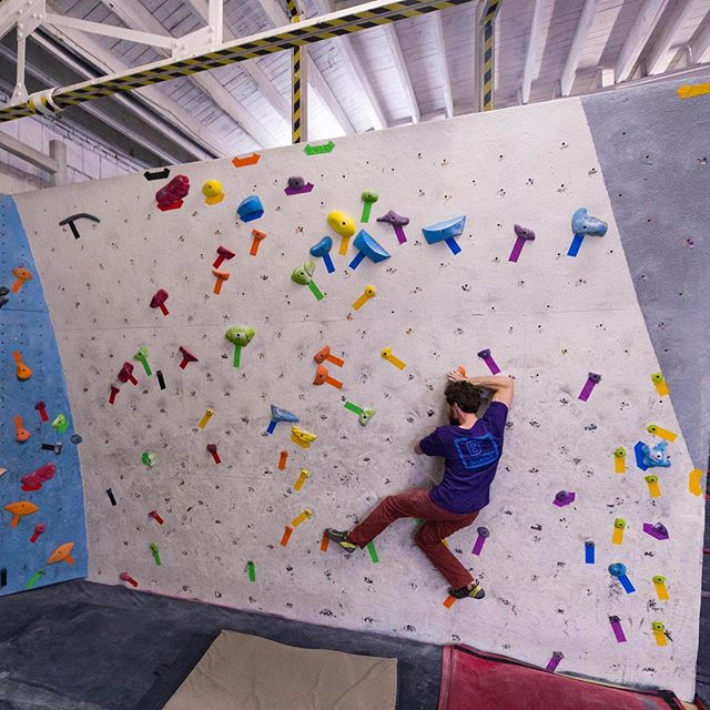 A new set AND new t-shirts and hoodies??? It's a great day to come climb at FAR. Plus tonight at @bhamboulders we're helping to kick off @colorthecrag! Come by for fun, a raffle, and more!