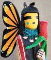 Butterfly Maiden Kachina Doll