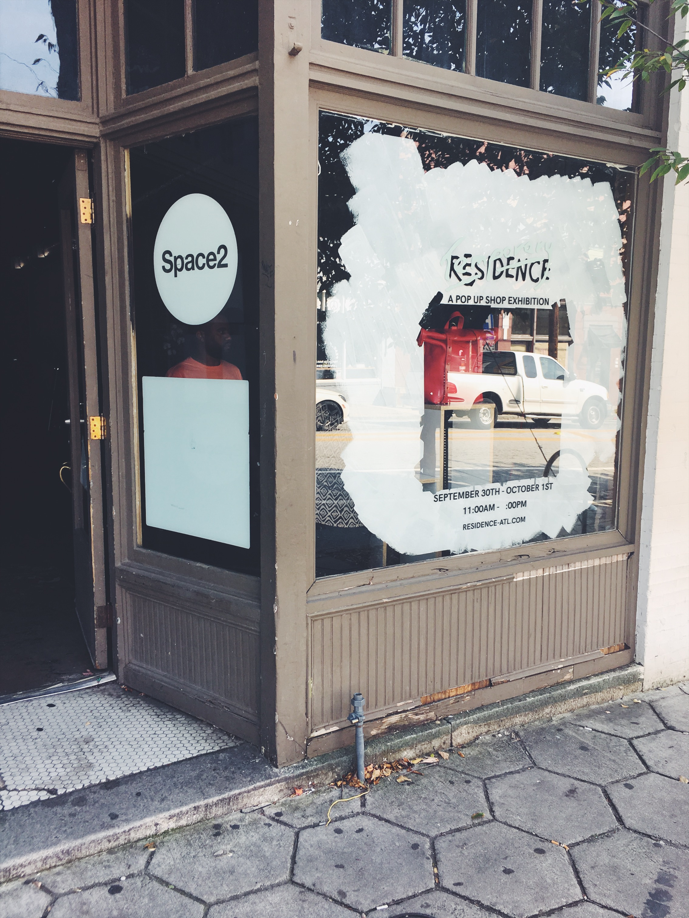 Storefront on Edgewood Ave in ATL