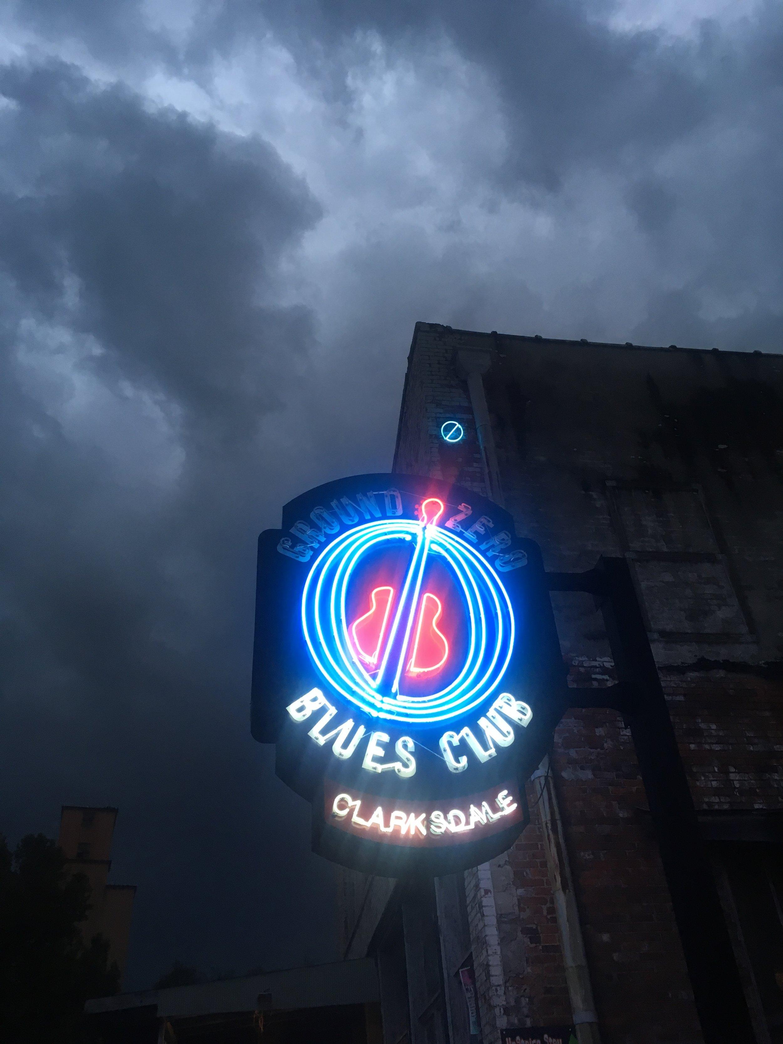 Ground Zero Blues Club in Clarksdale, Mississippi