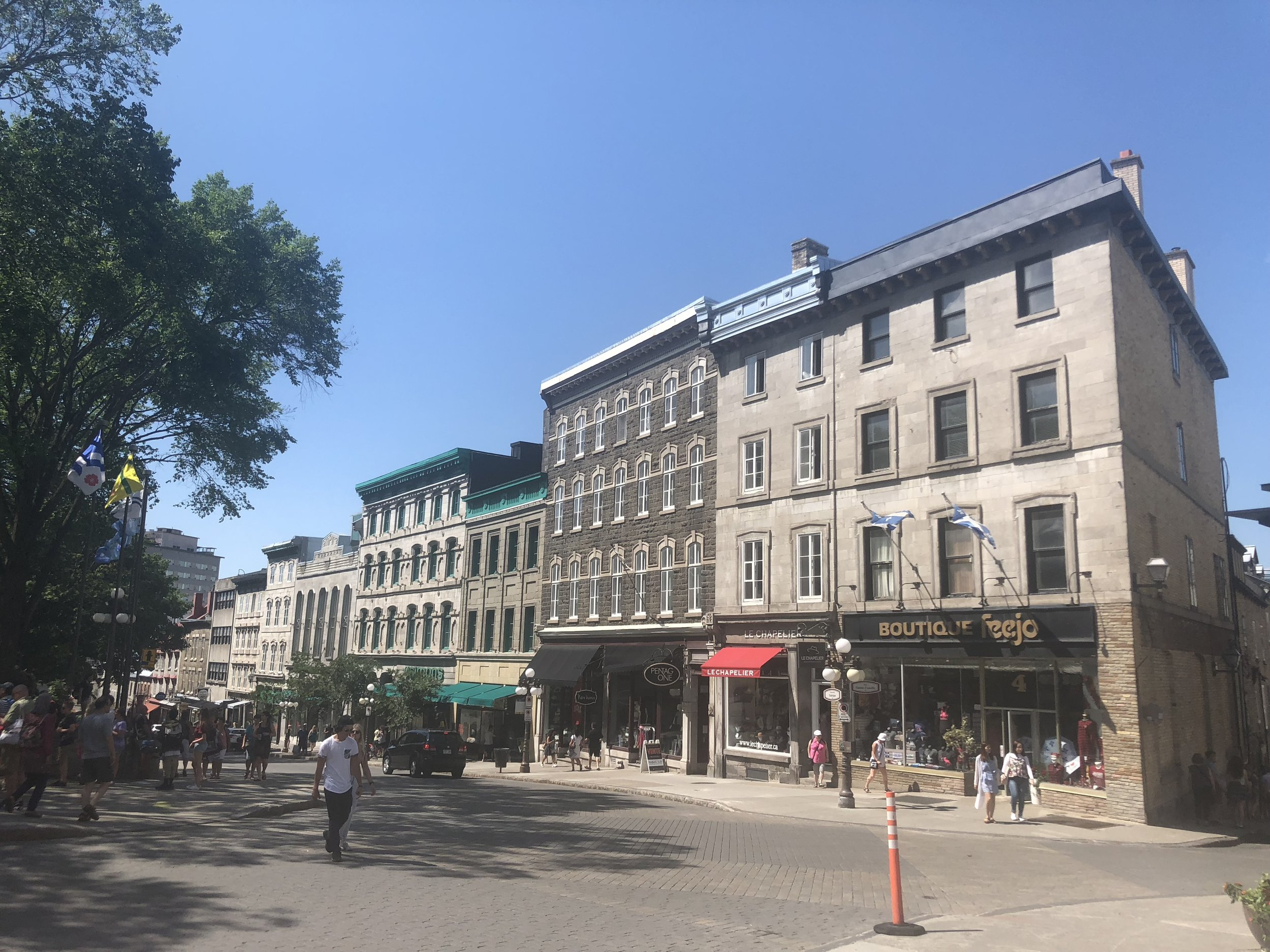 Downtown Quebec City