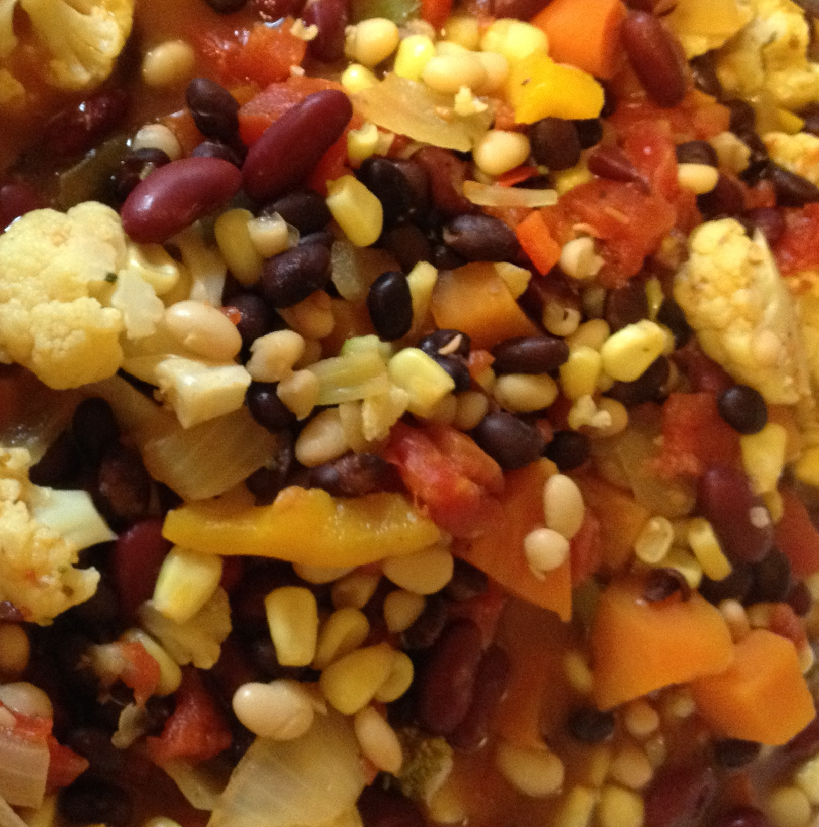 Veggie Chili - You Can't Quit Eating!