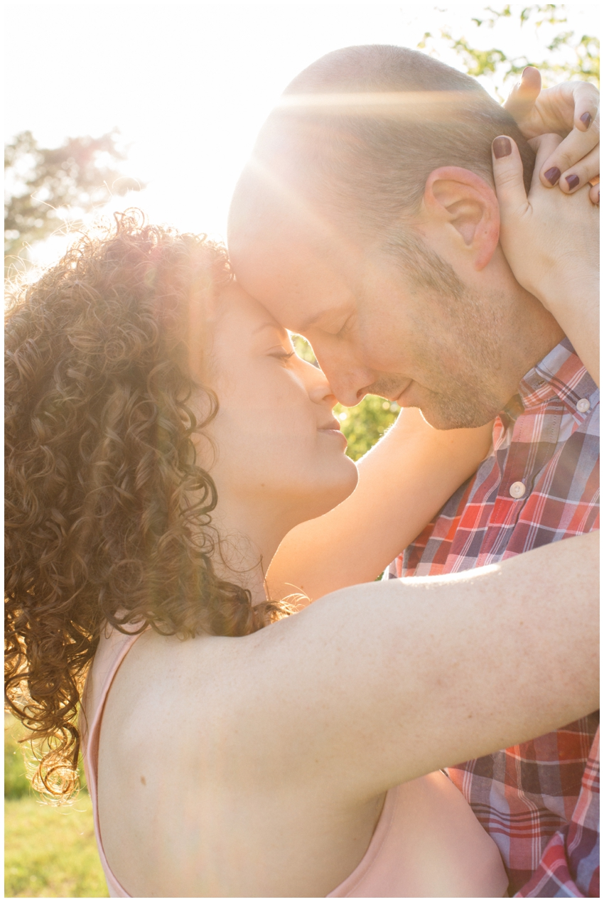 Engagement Session in downtown Milledgeville, GA