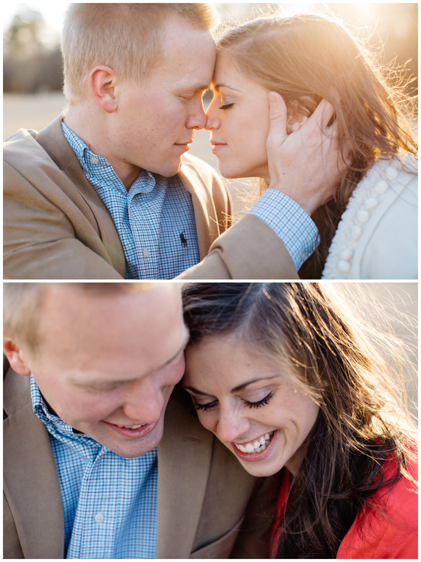 Engagement Session at Lake Conestee Nature Park