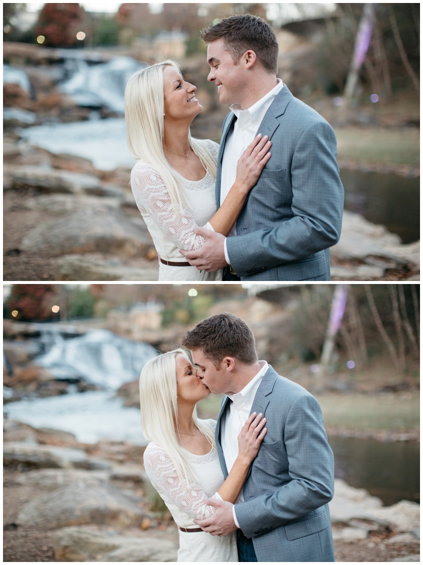 Falls Park Engagement Session