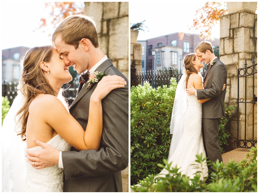 Weddings at Grace Church in downtown Greenville, SC