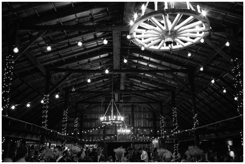 Wedding Reception at The Dutch Barn in Greer, SC