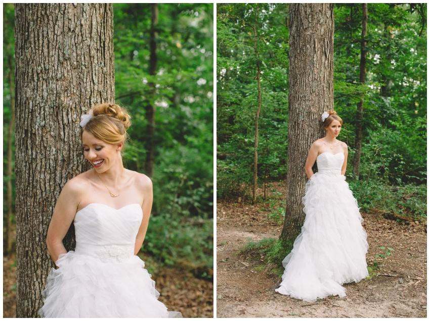 Bridal Session at Lake Conestee Nature Park