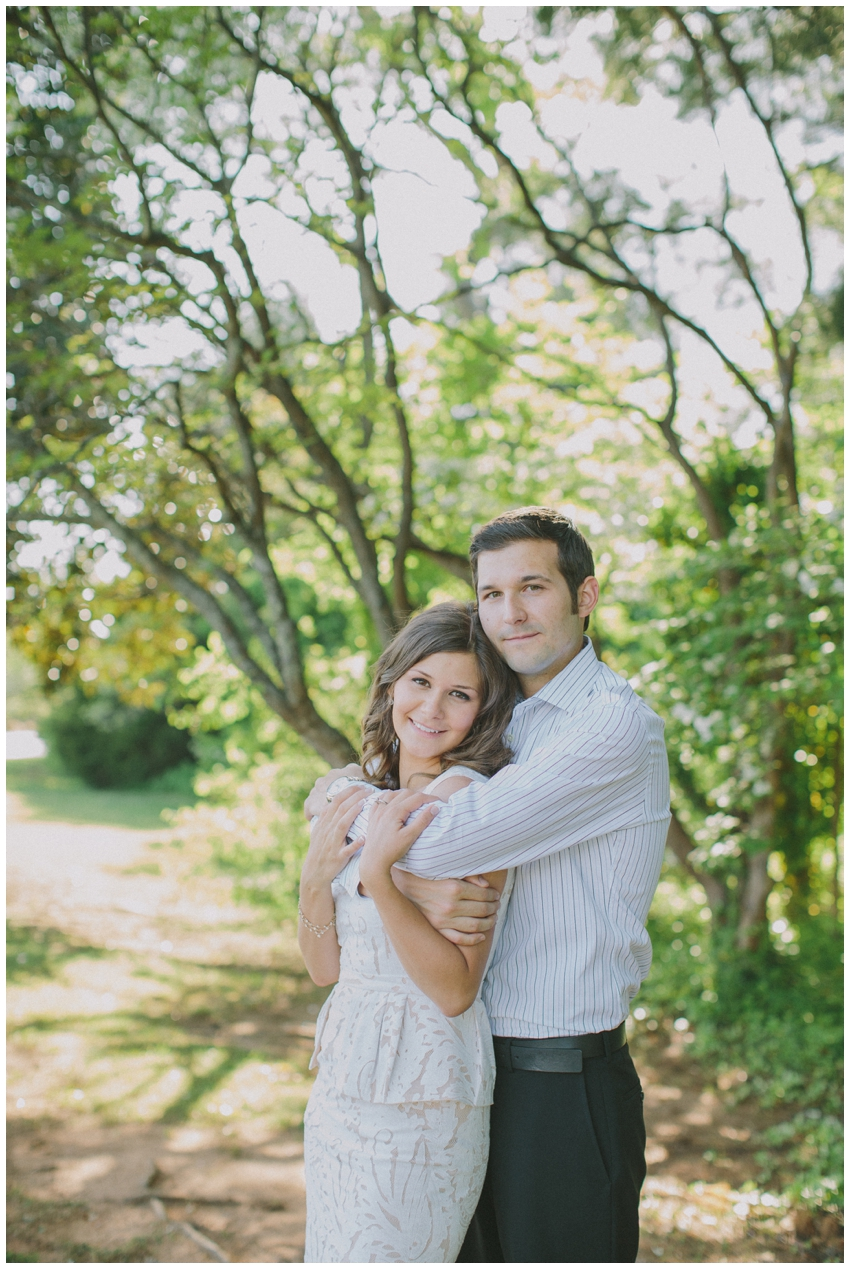Engagement Session at the downtown airport in Greenville, SC