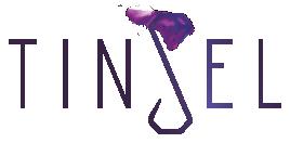 Tinsel Logo, Primary, tinsel.me