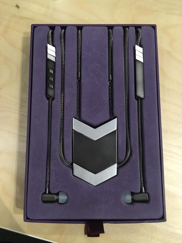 Tinsel- The Dipper Audio Necklace in Gunmetal, Packaging Sneak Peek, tinsel.me