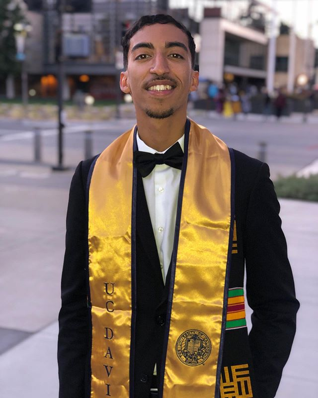 Congratulations to our brother and bass 🎸player Rasul who just completed his B.S. degree in Landscape Architecture from UC Davis! #ucdavisgrad