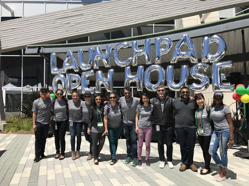 The Launchpad Accelerator Startup Success Managers for Class 4 at our Googlers' Open House