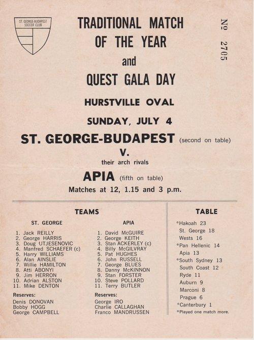 News — St George Football Club