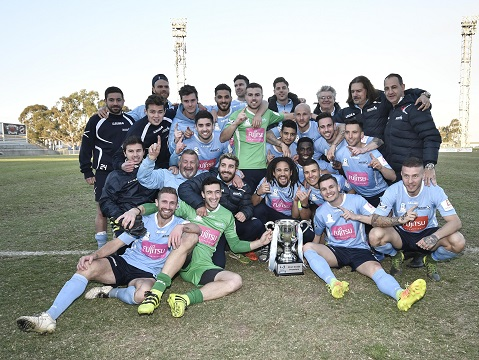 Congratulations to Marconi winning the NPL2 2017 Club Championship from SGFC