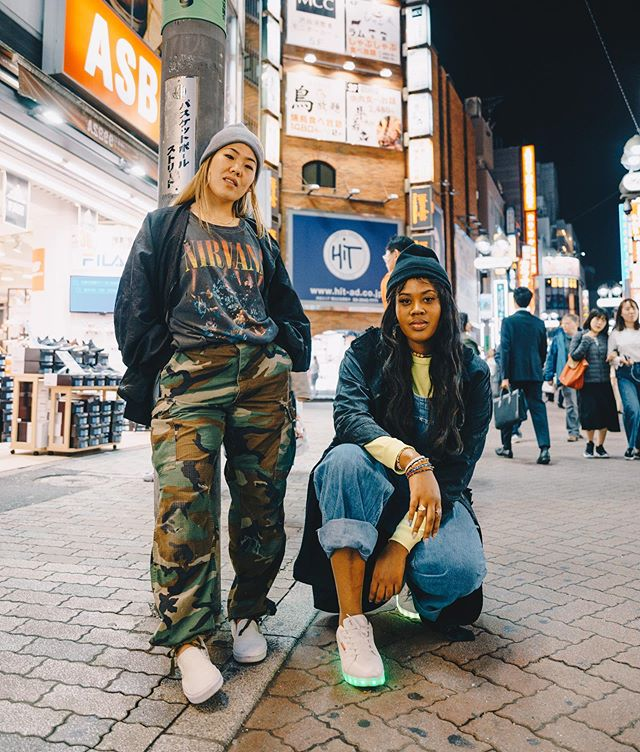 shibuya shawties. 🇯🇵 •• i've known @jamienseki for more than half of my life. 16 years to be exact. my oldest friend, my greatest friend, my diary. we used to be such losers in middle school. lmao. (no really, it was bad. i had a roller backpack & she used to slick her hair back with globs of gel. 😂) you can't f— with us now though. thankful to have such a dope ass bff to evolve with through all of our stages and to travel out of the country with for the first time. also thankful that my gift made a way for both of us to experience this! you keep me cool. got ya back for life, j. 💓 & i love you too @jfrank2308!! •• 📸: @joy.watanabe #imaneurope #jamienseki #friendship #tokyo #travel