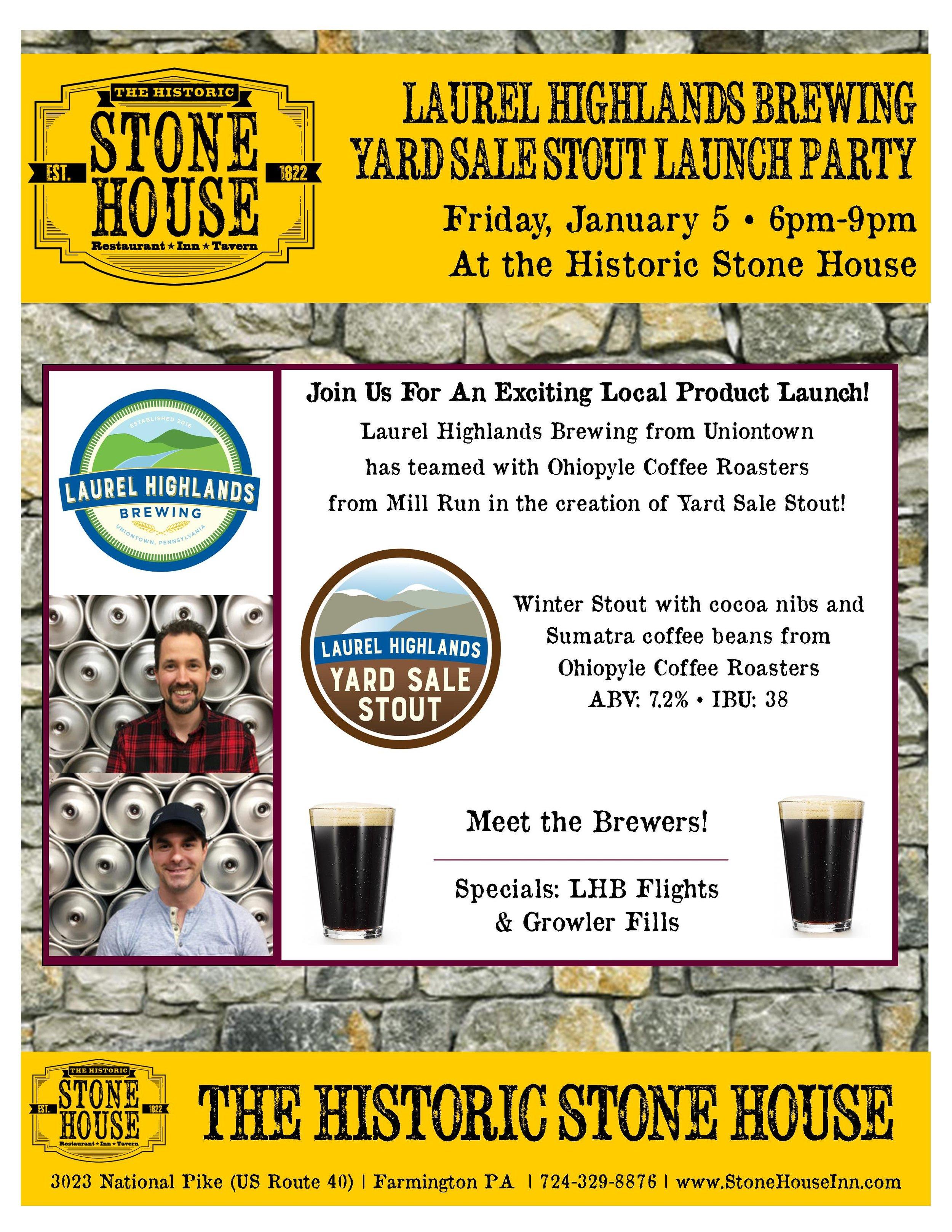Laurel Highlands Brewing Launch 010518.jpg