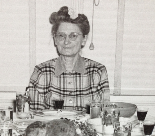 Hazel Armstrong, the founder of Mrs. Armstrong's California Fruits and Nuts.