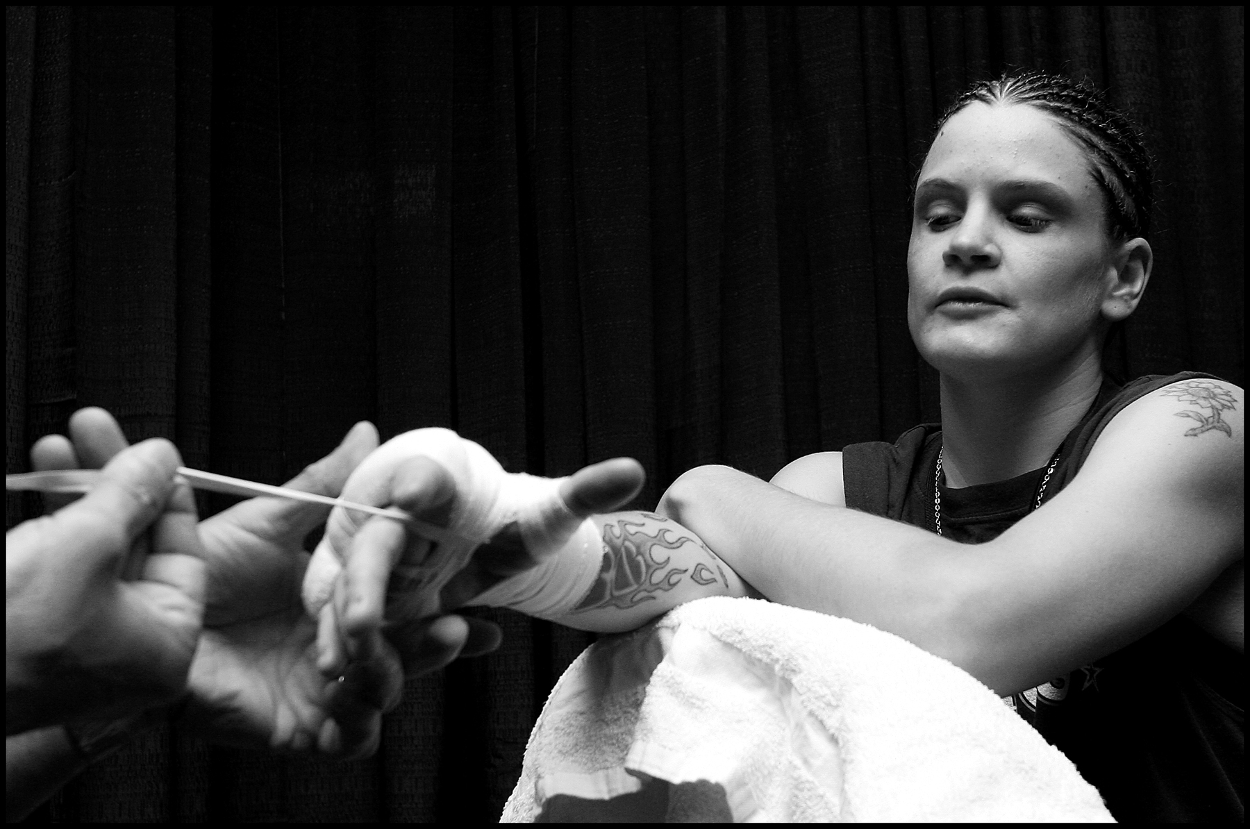 me handwrapping Hinkle(molly).JPG