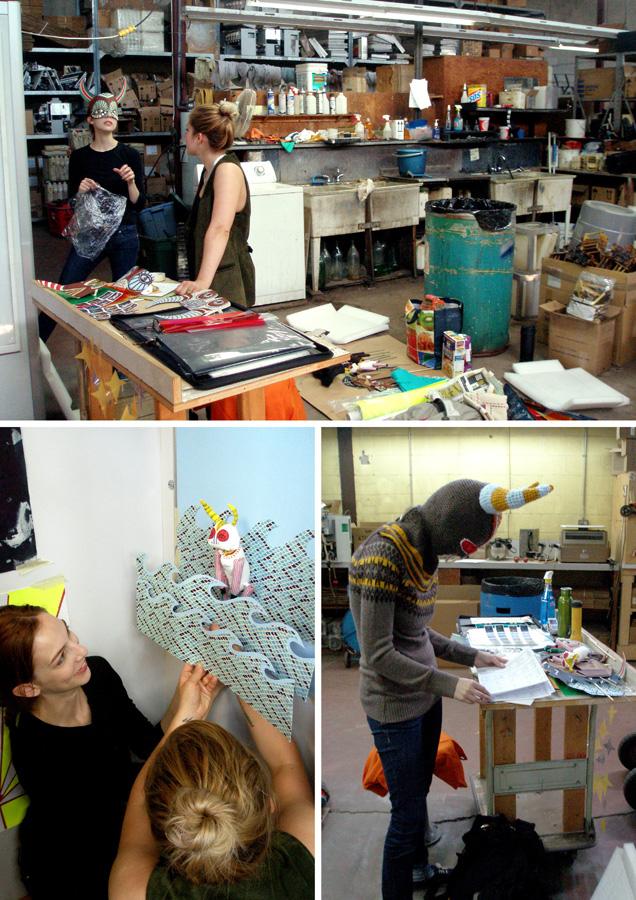 Snapshots from the making of Tauro Tauro