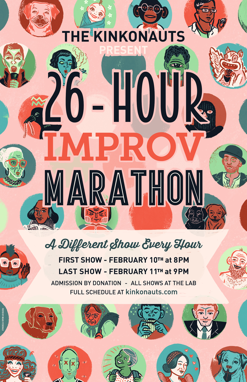 26 Hour Improv Marathon