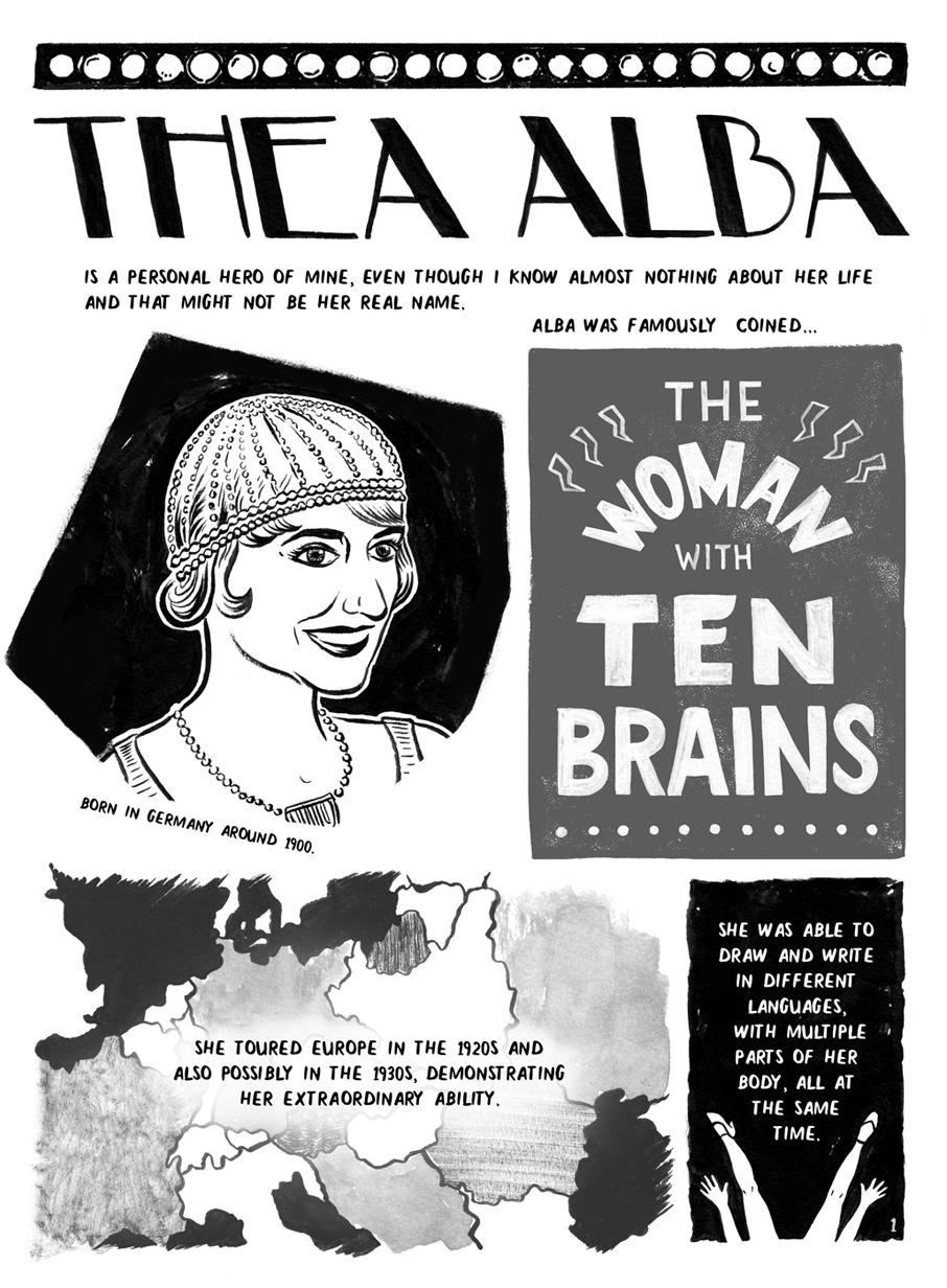 Thea Alba, Page 1
