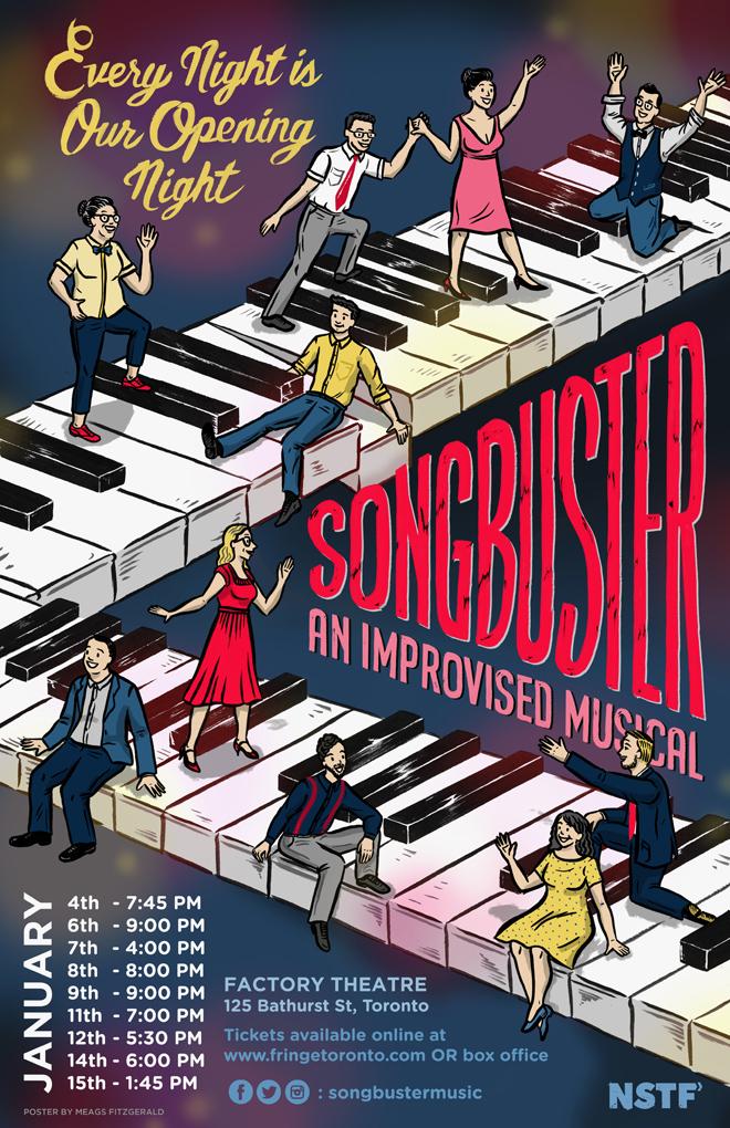 Songbuster Toronto Fringe