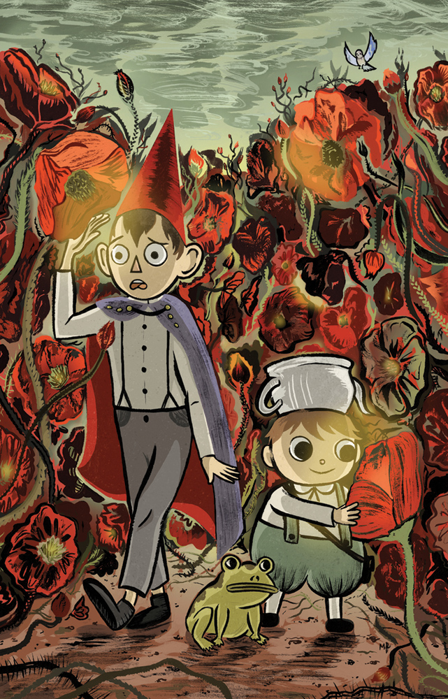 Over the Garden Wall, Variant Cover